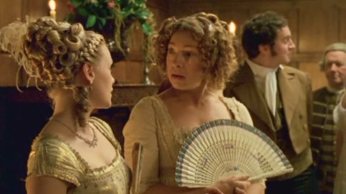 Caroline Bingley and Mrs Bennet