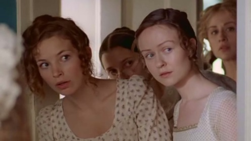 Lydia, Kitty, Mary and Jane Bennet