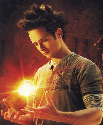 Justin Chatwin as Goku in Dragonball Evolution